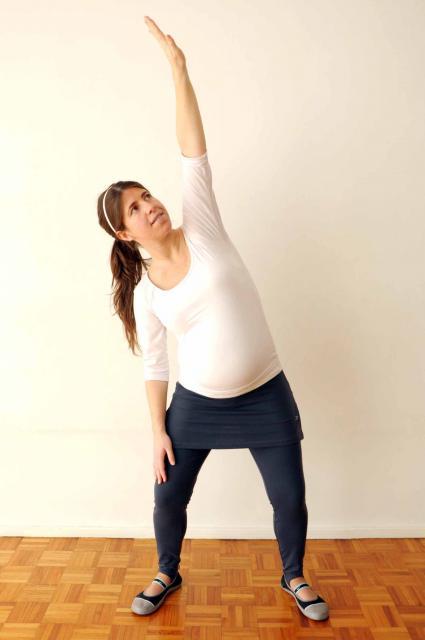 Ejercicios para hacer en casa durante el embarazo  8f4346b651c4