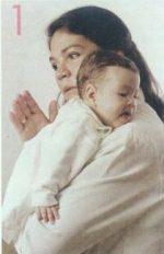 Cómo ayudar a tu bebé a eructar