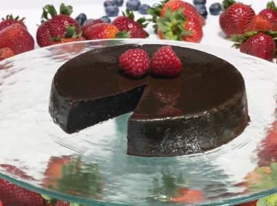 marquise de chocolate